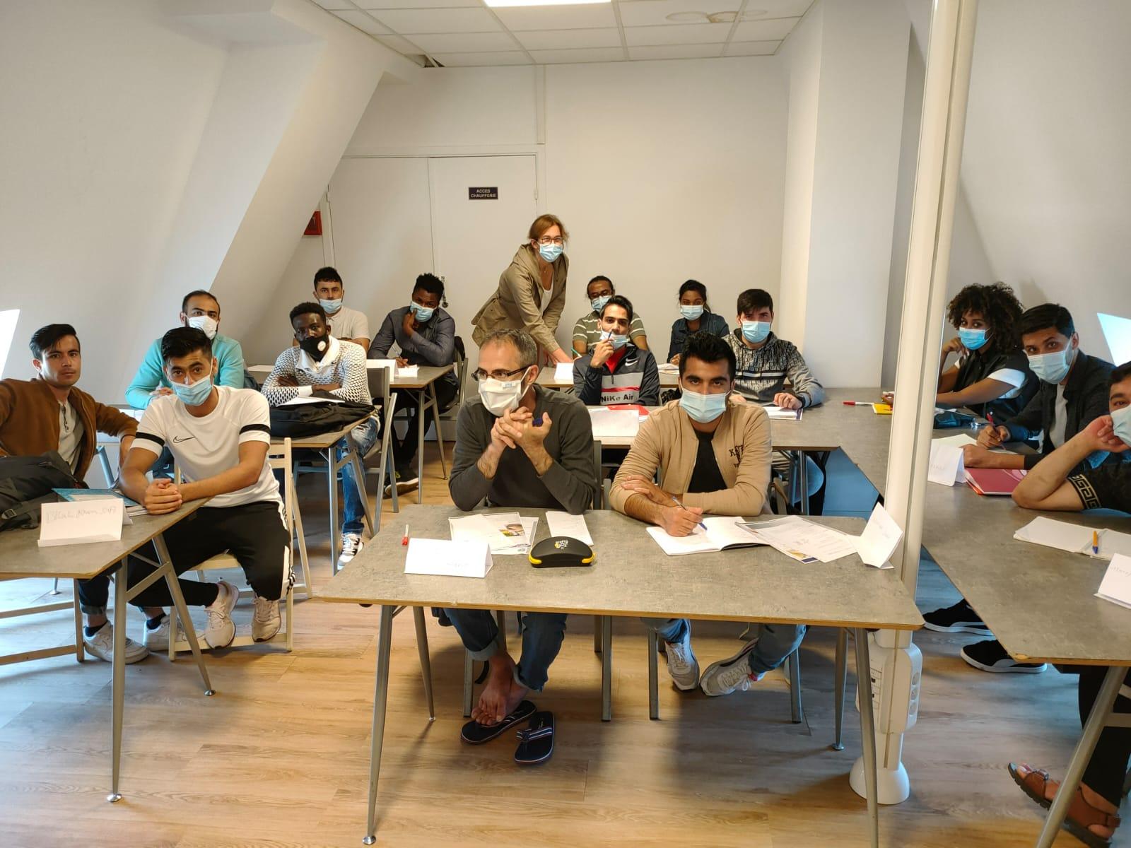 une classe en action